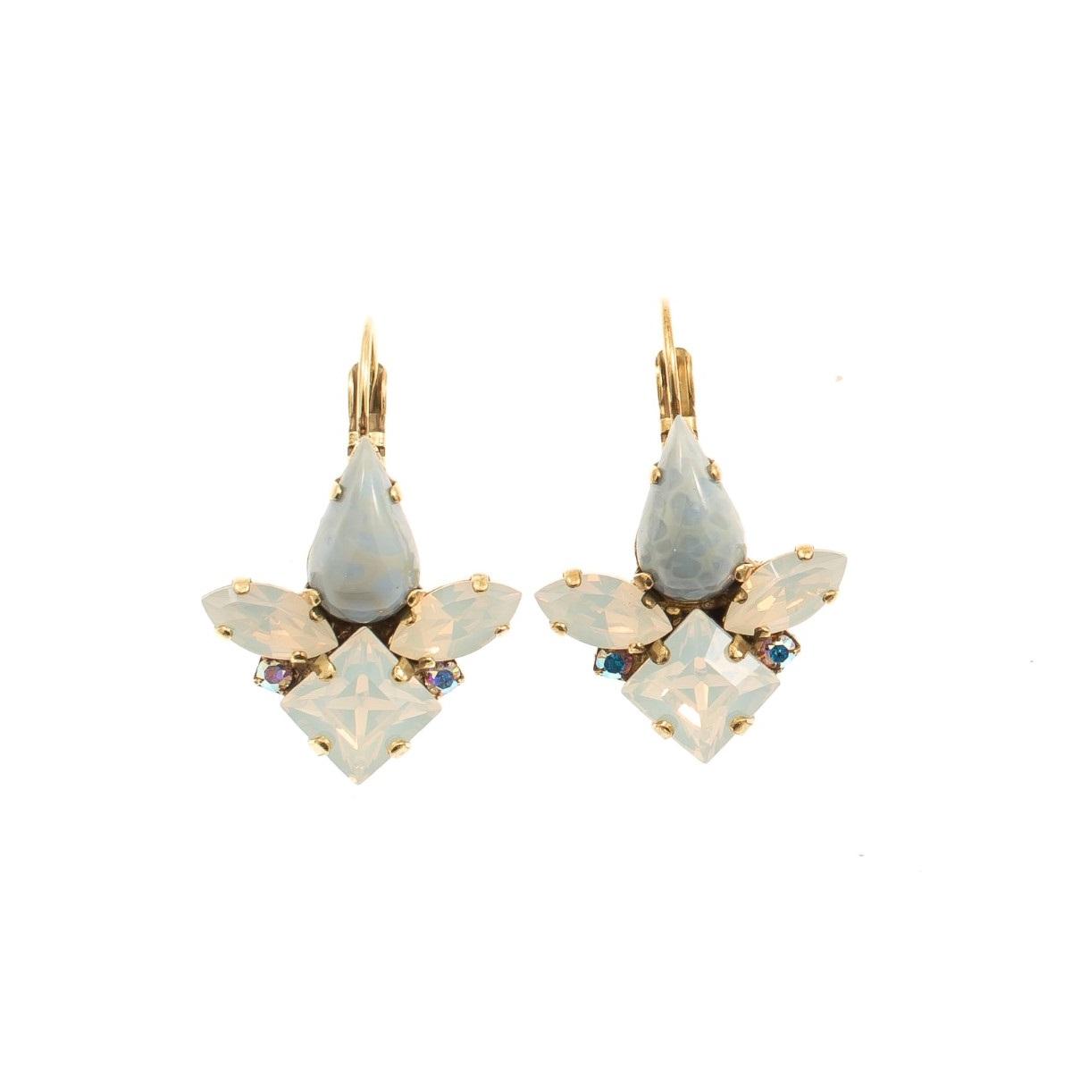 ARTWEAR DIMITRIADIS - Γυναικεία σκουλαρίκια ARTWEAR DIMITRIADIS με στρας γυναικεία αξεσουάρ κοσμήματα σκουλαρίκια