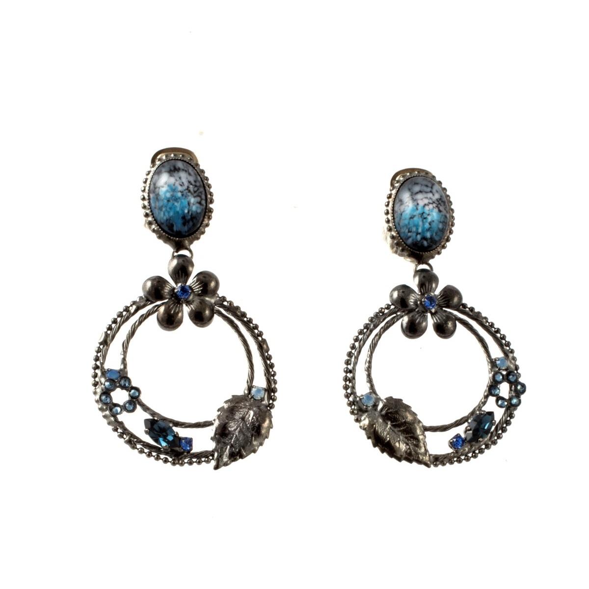 ARTWEAR DIMITRIADIS - Γυναικεία σκουλαρίκια ARTWEAR DIMITRIADIS με κρεμαστούς κρ γυναικεία αξεσουάρ κοσμήματα σκουλαρίκια