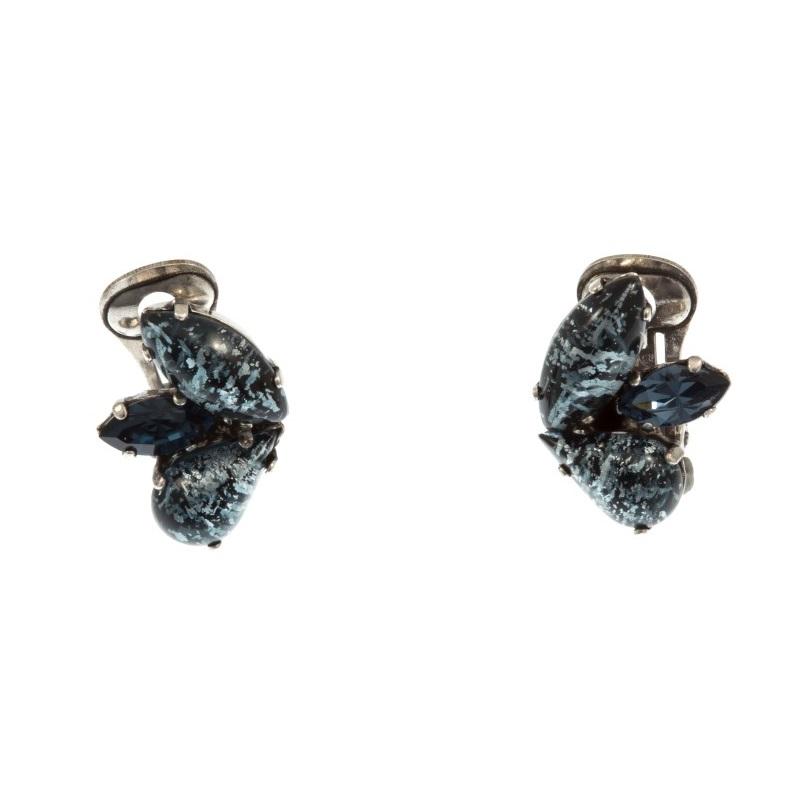 ARTWEAR DIMITRIADIS - Γυναικεία κουμπωτά σκουλαρίκια ARTWEAR DIMITRIADIS με στρα γυναικεία αξεσουάρ κοσμήματα σκουλαρίκια