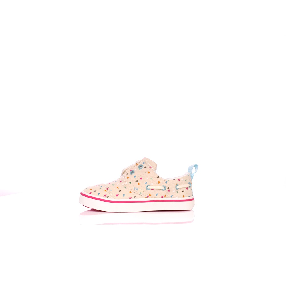 TOMS – Παιδικά παπούτσια Toms FUNFETTI PRINT TN μπεζ