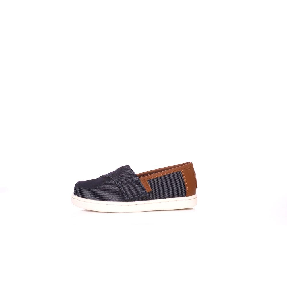 TOMS – Παιδικά παπούτσια Toms HEAVY DENIM μπλε