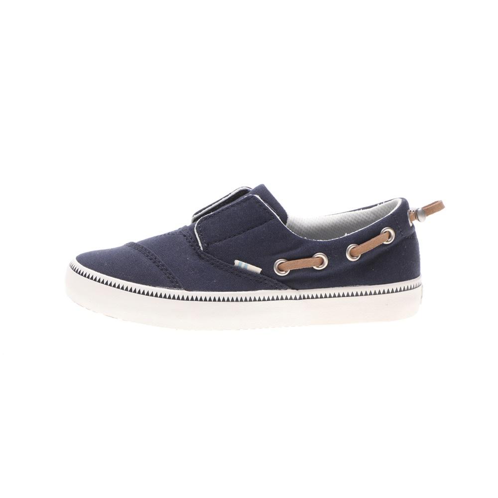 TOMS – Παιδικά παπούτσια TOMS CANVAS YT PSDN SLIPON μπλε
