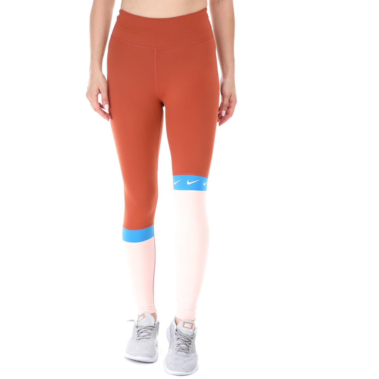 NIKE - Γυναικείο κολάν Nike ONE TIGHT 7/8 CLRBLK SW μπέζ - NIKE -