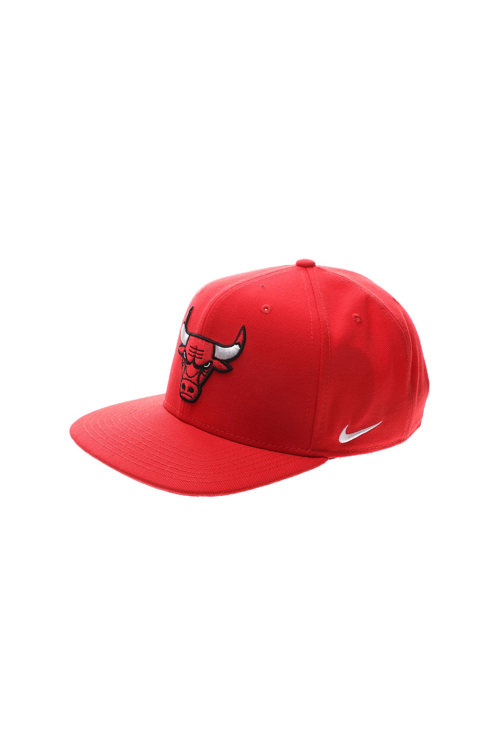 NIKE - Αθλητικό καπέλο NIKE ΝΒΑ CHI NBA U NK PRO ADJ LOGO κόκκινο