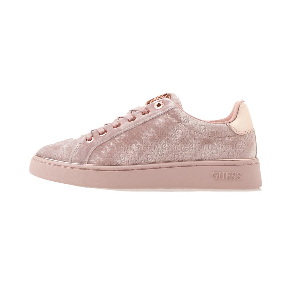 GUESS – Γυναικεία sneakers GUESS BRAYZA ροζ
