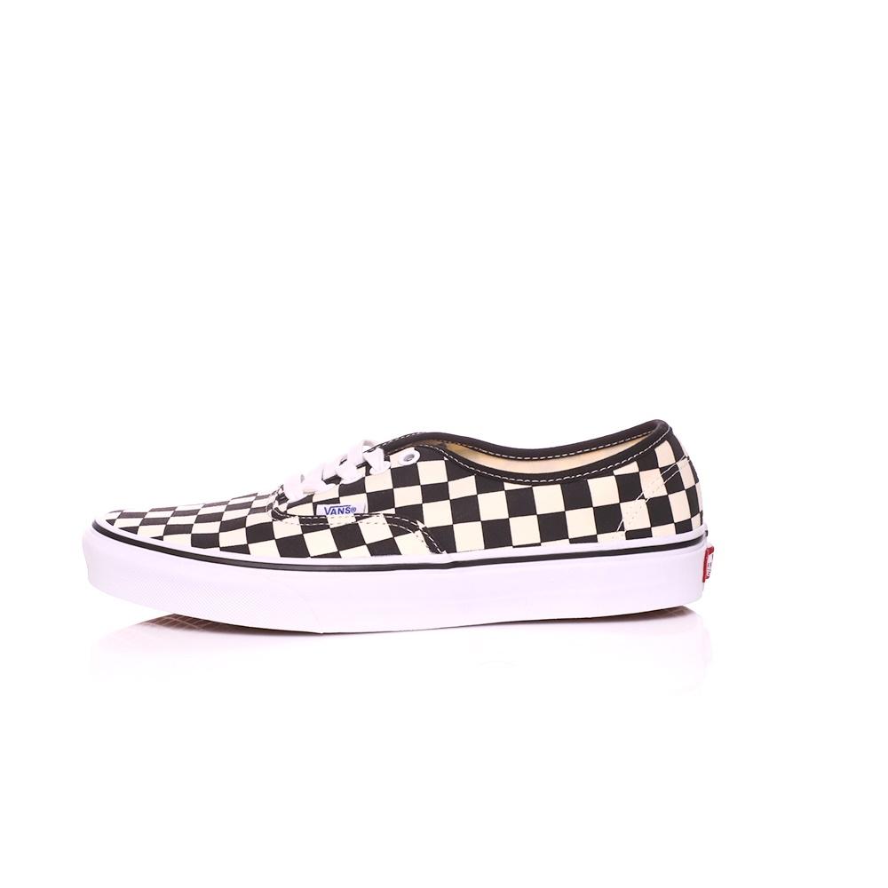 VANS – Unisex sneakers VANS AUTHENTIC λευκά-μαύρα