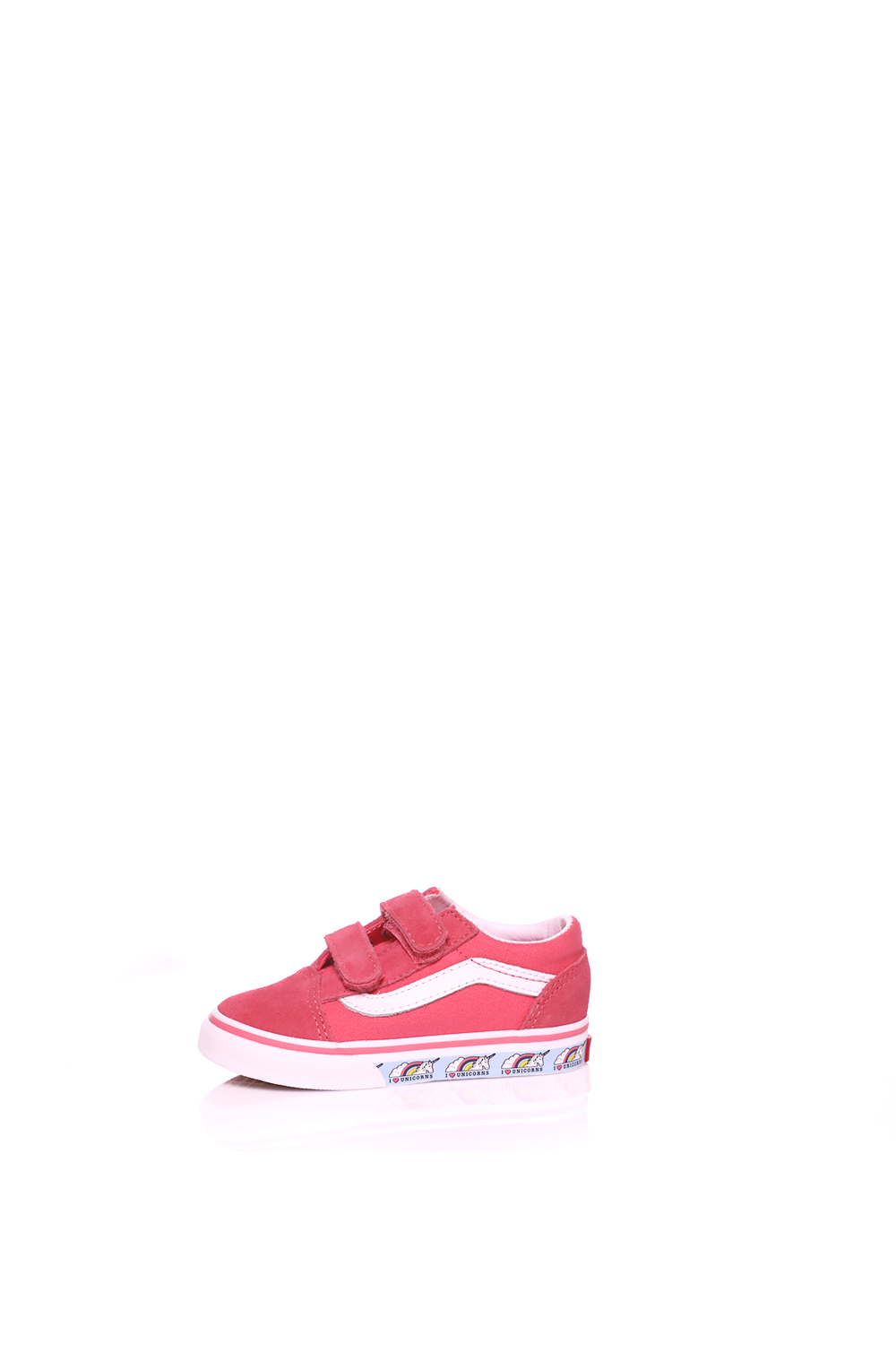 VANS – Βρεφικά sneakers VANS OLD SKOOL ροζ