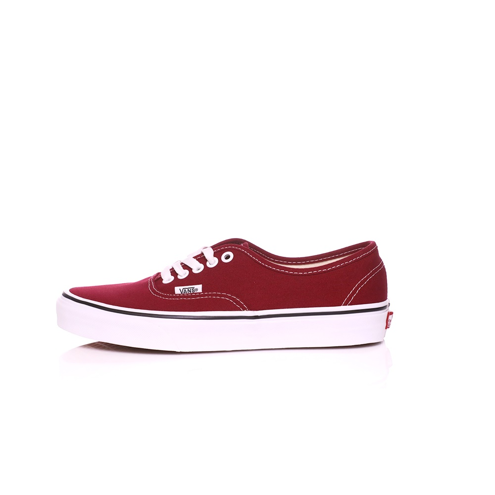 VANS – Unisex sneakers VANS AUTHENTIC κόκκινα