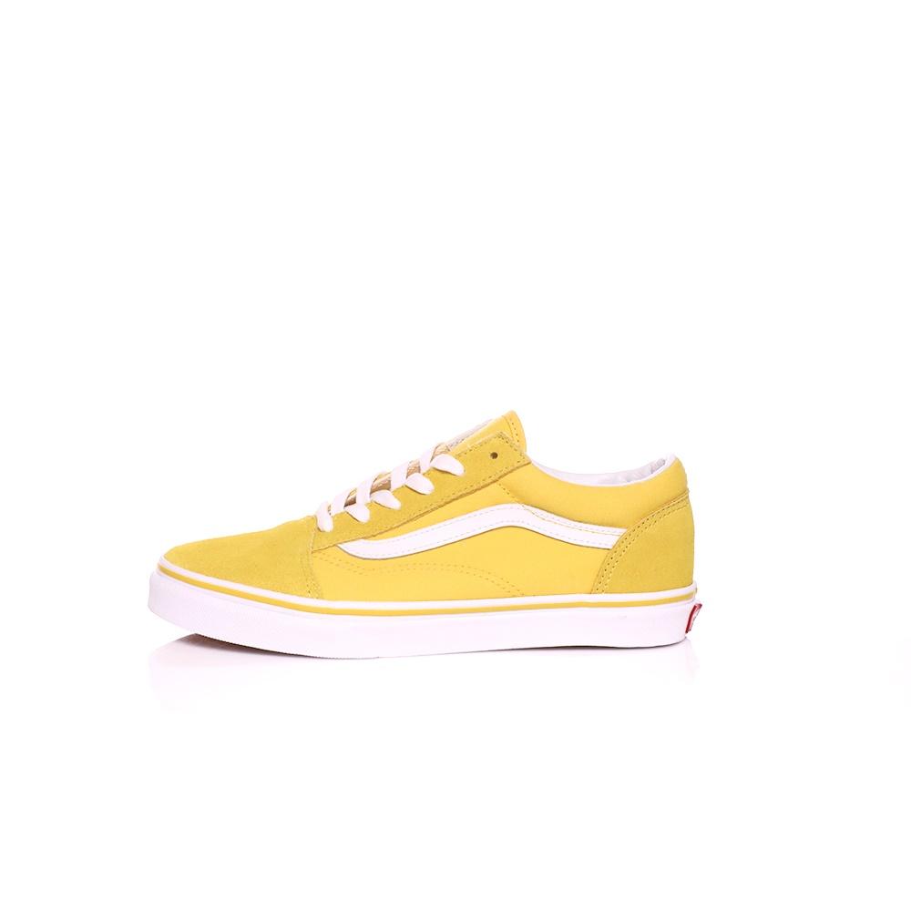 VANS – Παιδικά sneakers VAN SOLD SKOOL κίτρινα