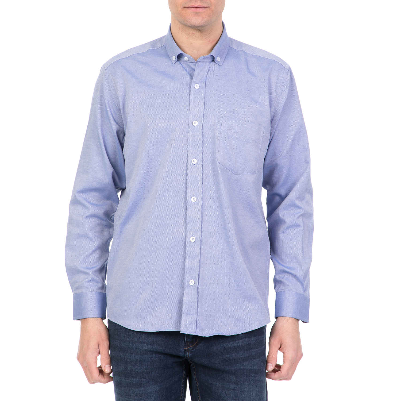 2249fde9e74e DORS – Ανδρικό μακρυμάνικο πουκάμισο DORS γαλάζιο 1733232.0-0010