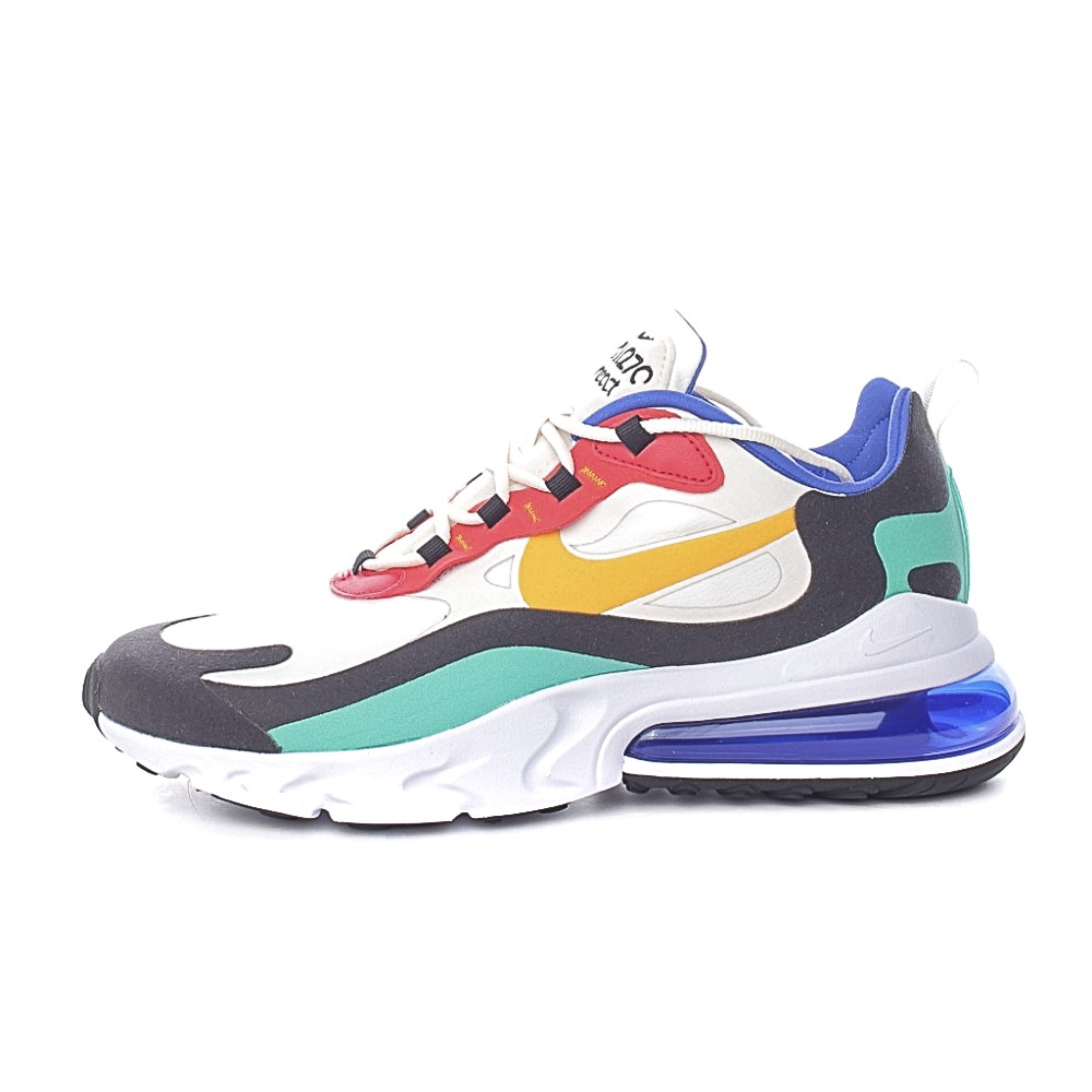 NIKE – Ανδρικά παπόυτσια AIR MAX 270 REACT λευκά