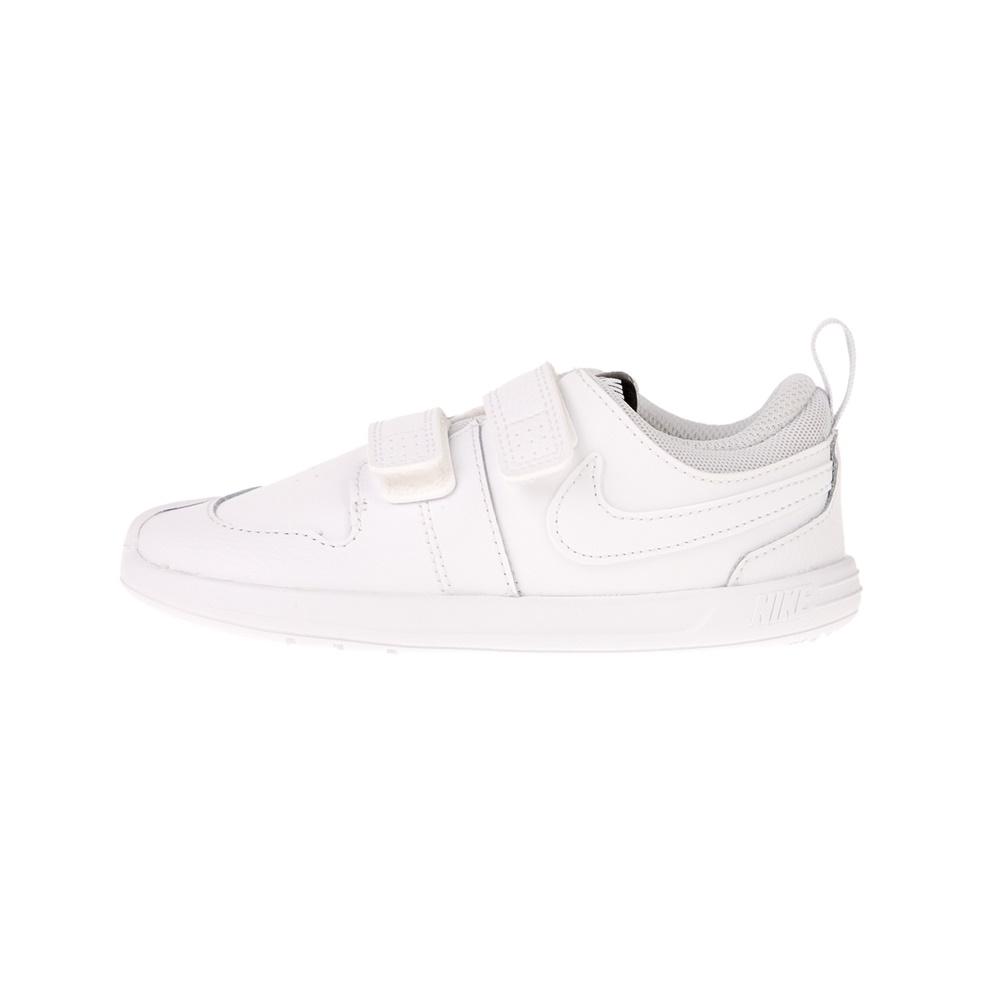 NIKE – Βρεφικά αθλητικά παπούτσια NIKE PICO 5 (TDV) λευκά