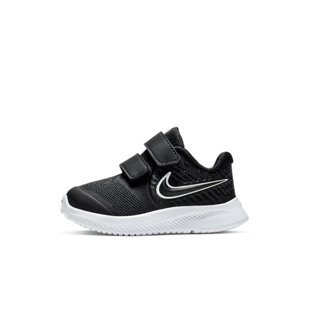 NIKE – Βρεφικά παπούτσια NIKE STAR RUNNER 2 (TDV) μαύρα