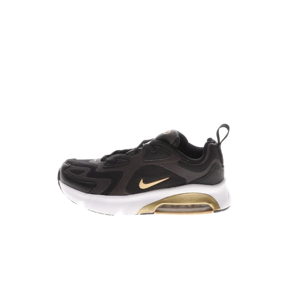 NIKE – Παιδικά παπούτσια running NIKE AIR MAX 200 (GS) μαύρα χρυσά