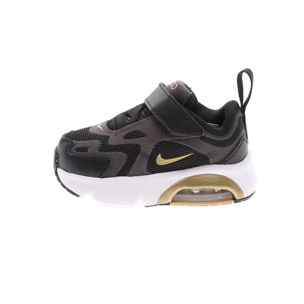 NIKE – Βρεφικά αθλητικά παπούτσια NIKE AIR MAX 200 (TD) μαύρα