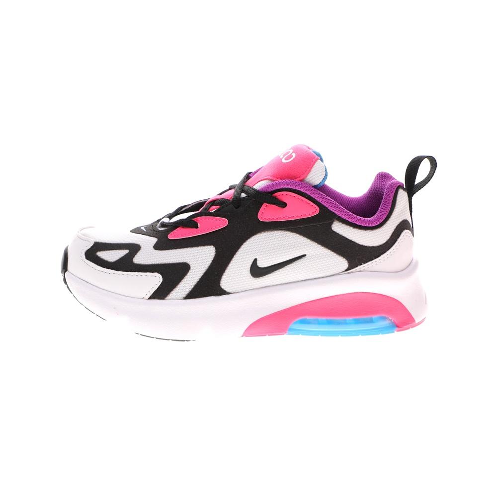 NIKE – Παιδικά αθλητικά παπούτσια NIKE AIR MAX 200 (PS) ασπρόμαυρα