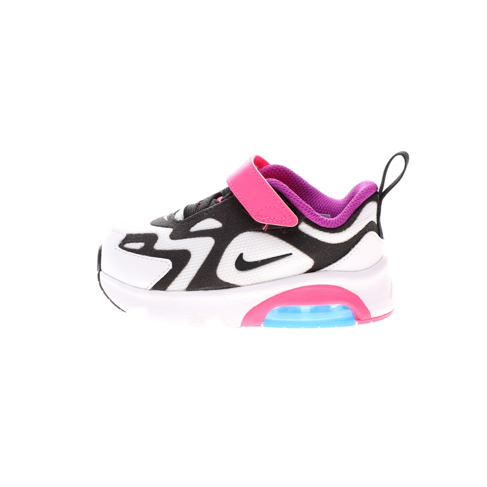 NIKE – Βρεφικά παπούτσια NIKE AIR MAX 200 (TD) λευκά