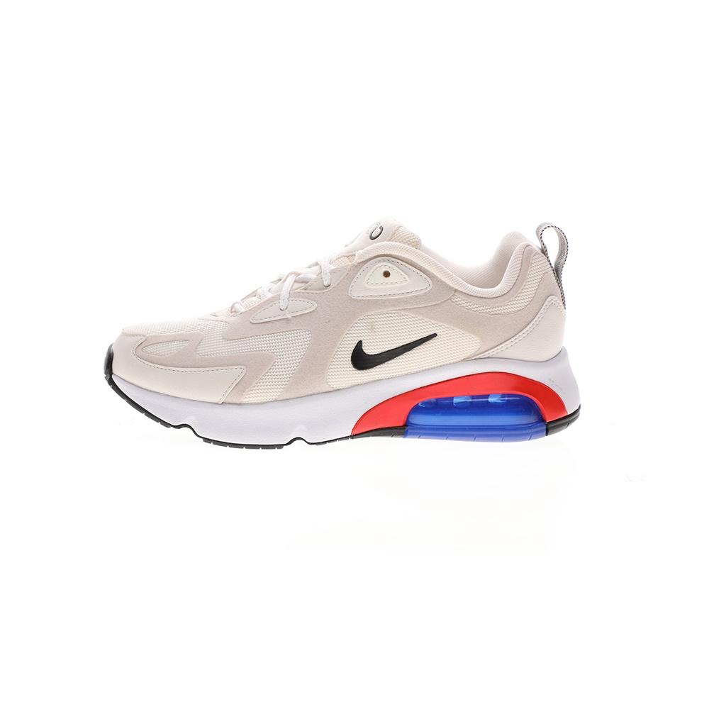 NIKE – Γυναικεία παπούτσια running AIR MAX 200 λευκά μπεζ