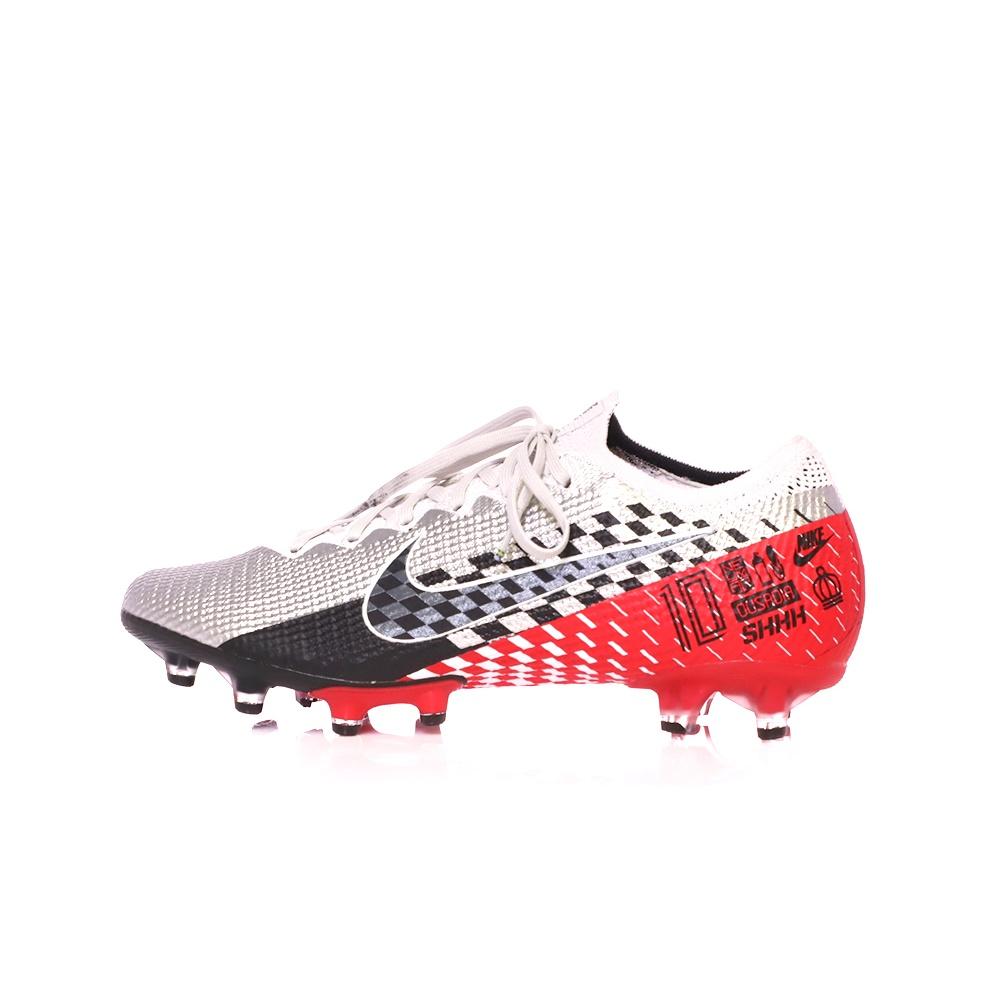 NIKE – Ανδρικά παπούτσια ποδοσφαίρου NIKE VAPOR 13 ELITE NJR AG-PRO ασημί κόκκινα
