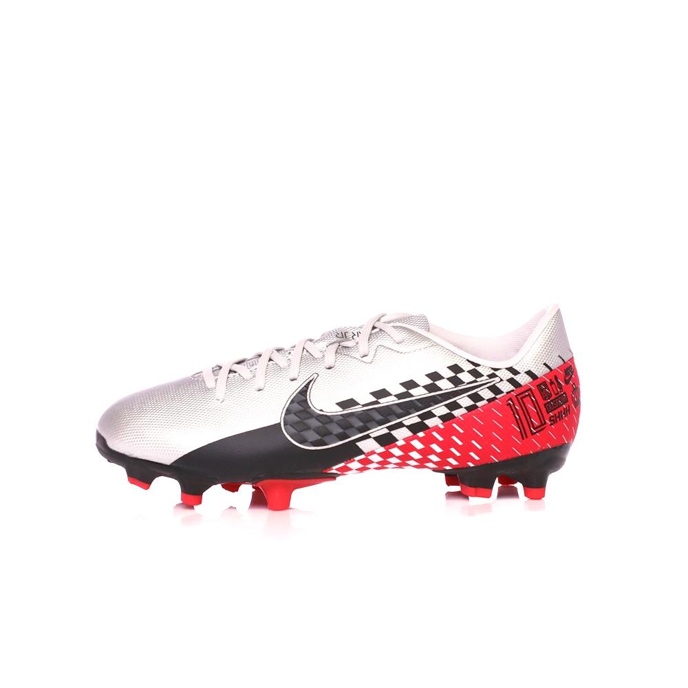 NIKE – Παιδικά παπούτσια NIKE JR VAPOR 13 ACADEMY NJR FG/MG ασημί κόκκινα