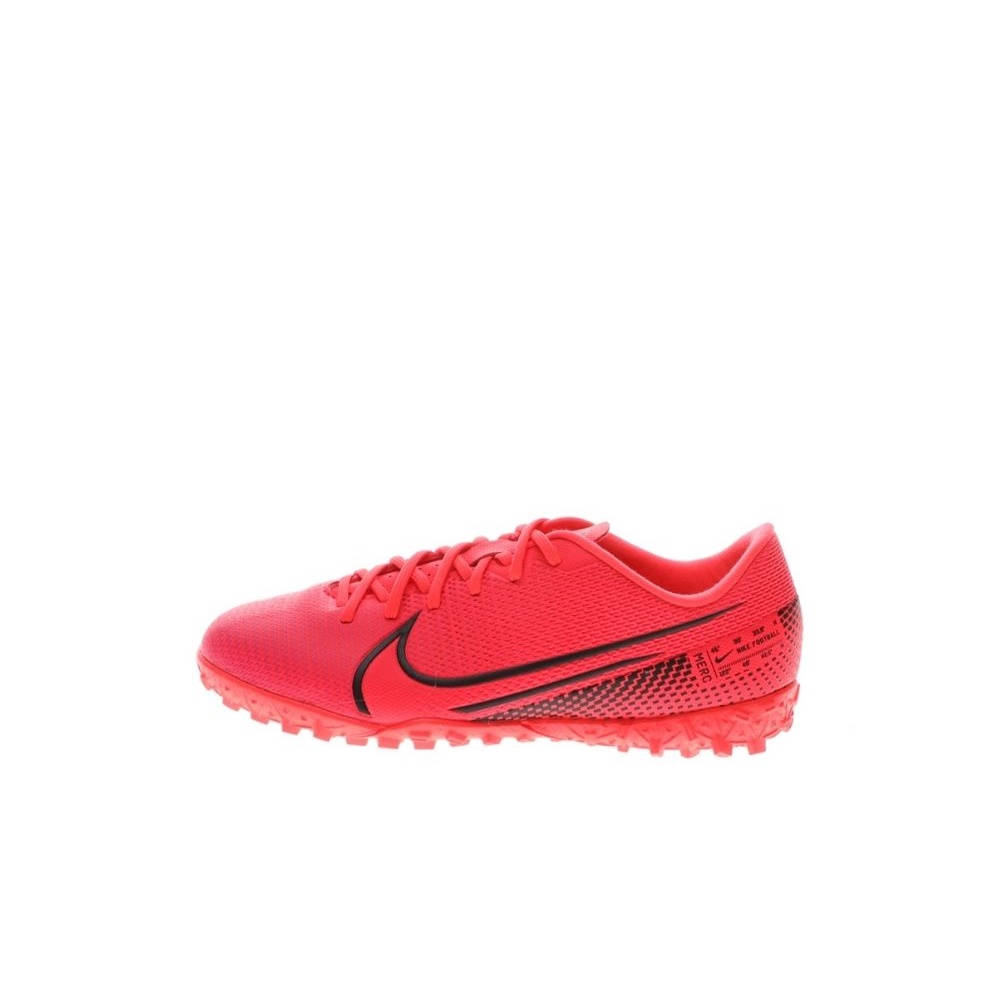 NIKE – Παιδικά παπούτσια football NIKE JR VAPOR 13 ACADEMY TF κόκκινα