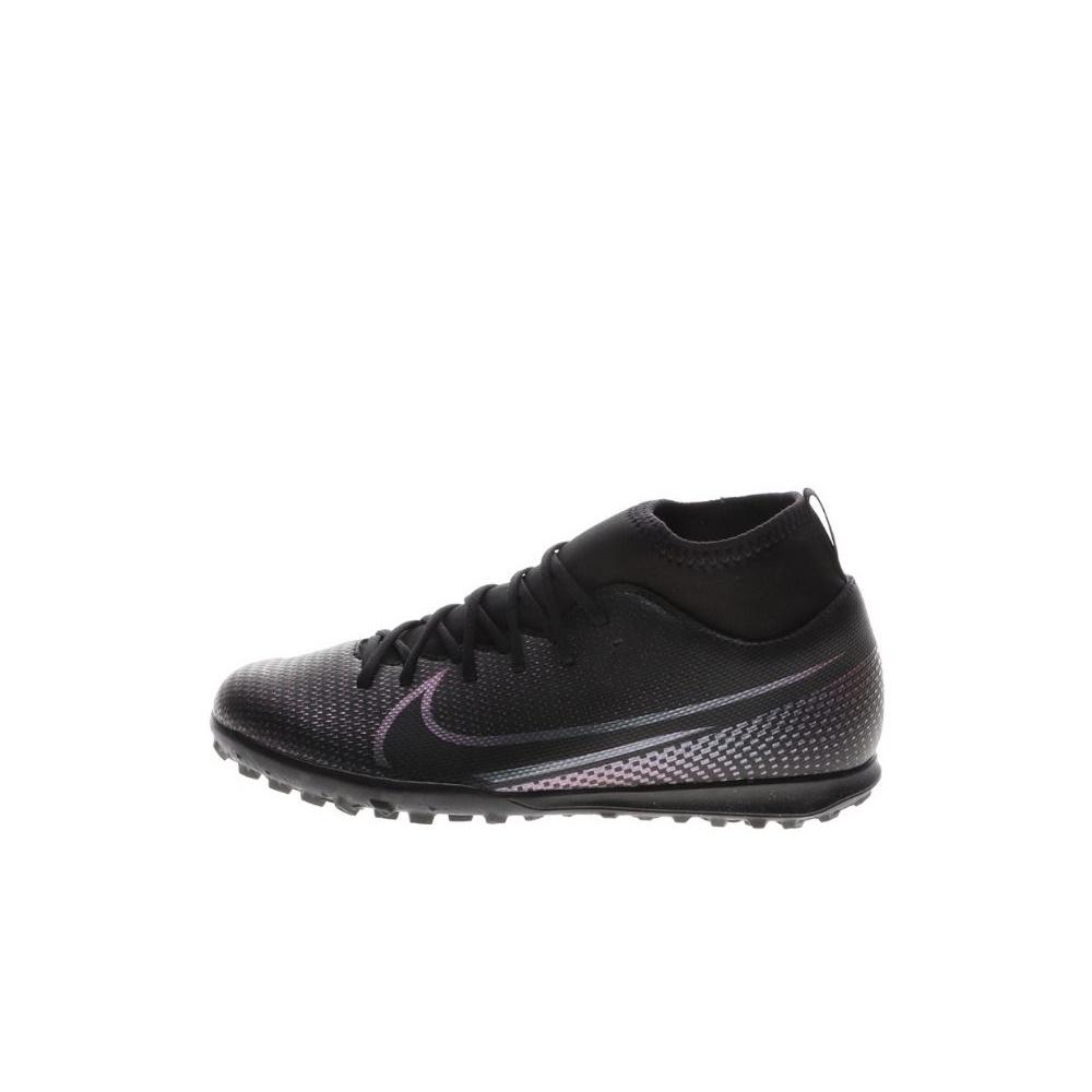 NIKE – Παιδικά παπούτσια football NIKE JR SUPERFLY 7 CLUB TF μαύρα