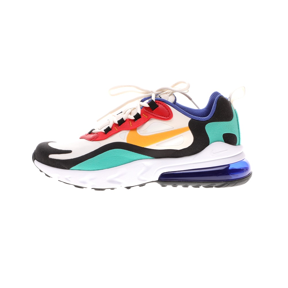 NIKE – Παιδικά αθλητικά παπούτσια NIKE AIR MAX 270 REACT (GS) λευκά μπλε