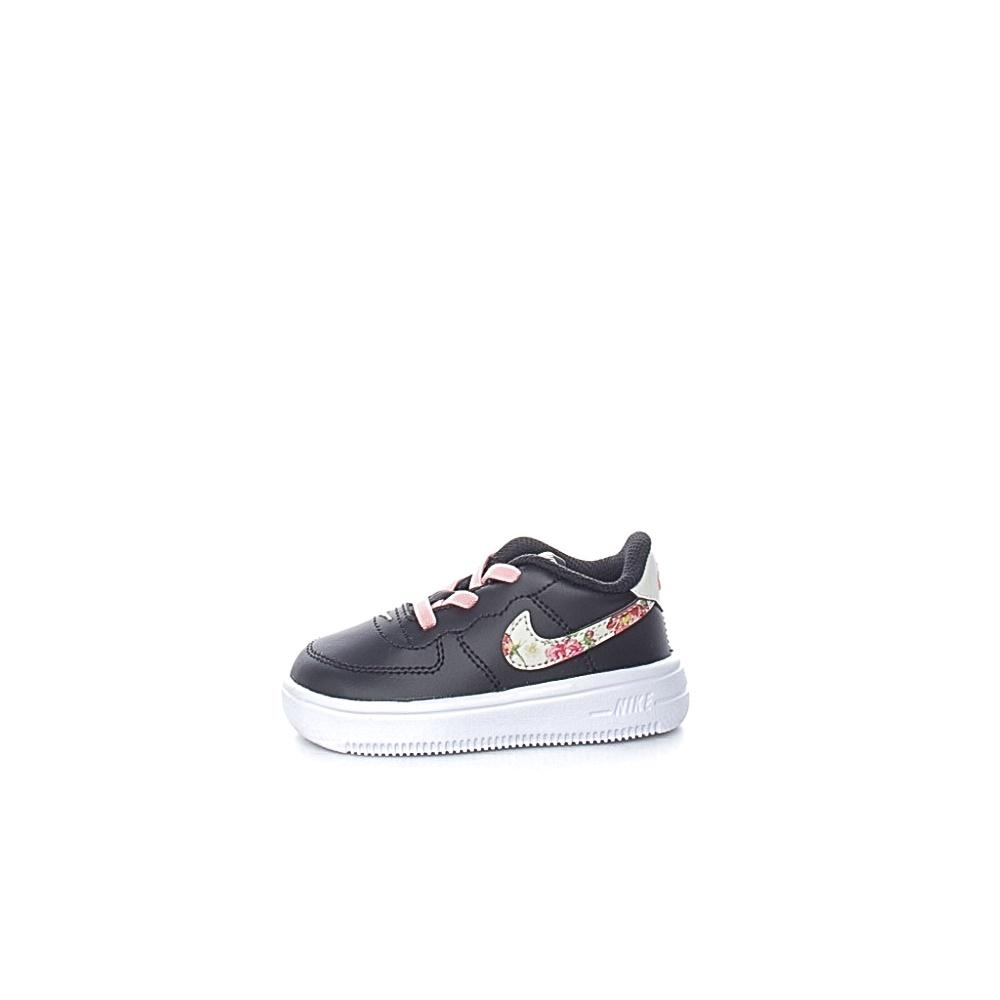 NIKE – Βρεφικά παπούτσια NIKE FORCE 1 '18 VF μαύρα