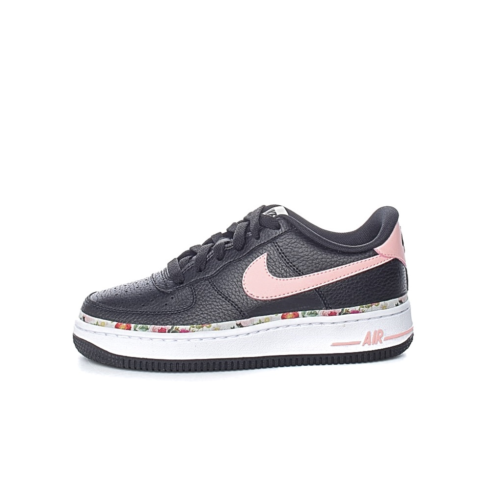 NIKE – Παιδικά παπούτσια NIKE AIR FORCE 1 VF (GS) μαύρα
