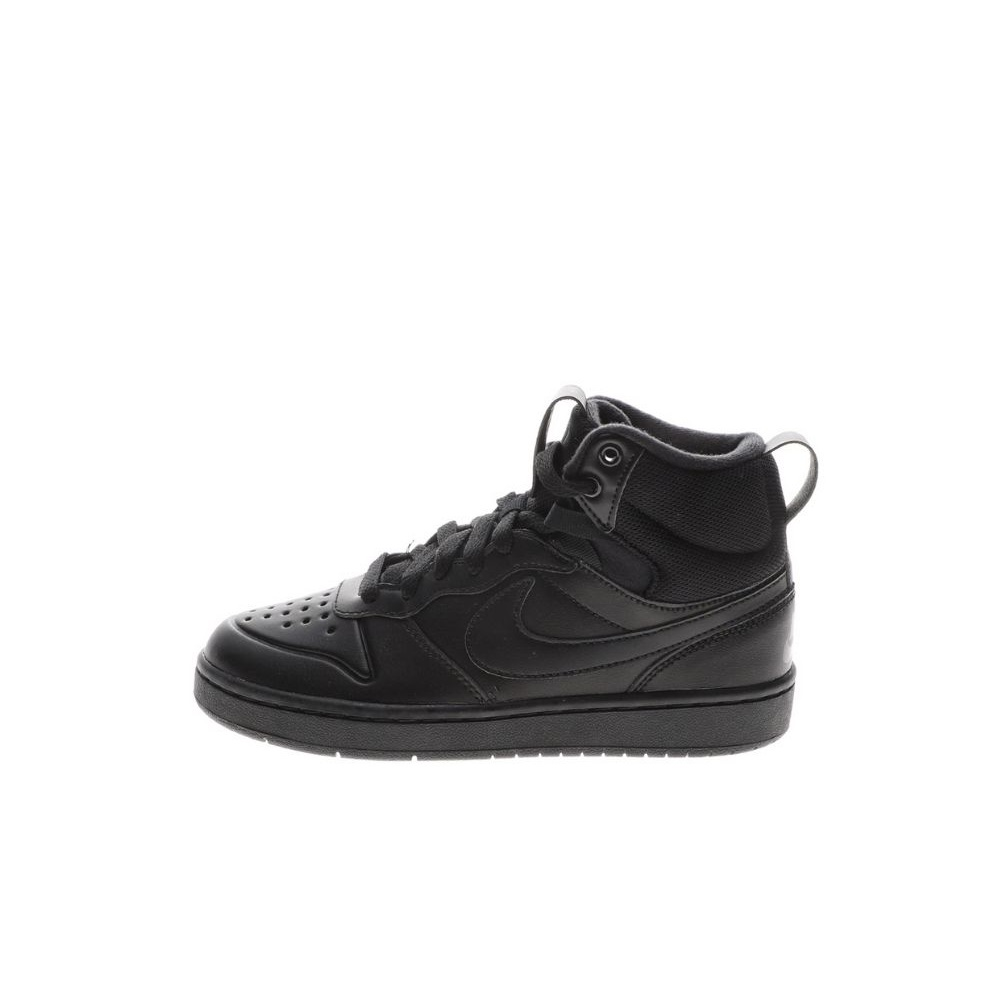 NIKE – Παιδικά παπούτσια basketball NIKE COURT BOROUGH MID 2 BOOT (GS) μαύρα