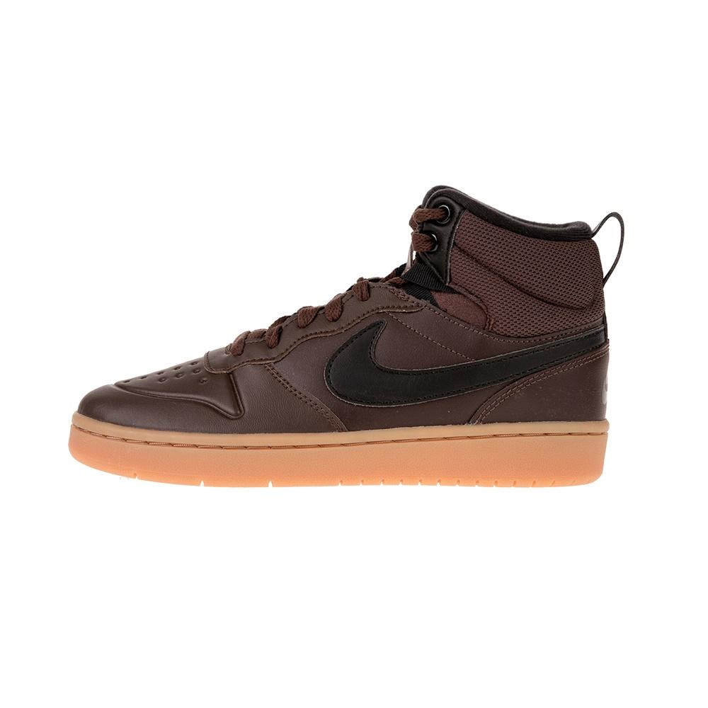 NIKE – Παιδικά παπούτσια COURT BOROUGH MID 2 BOOT καφέ