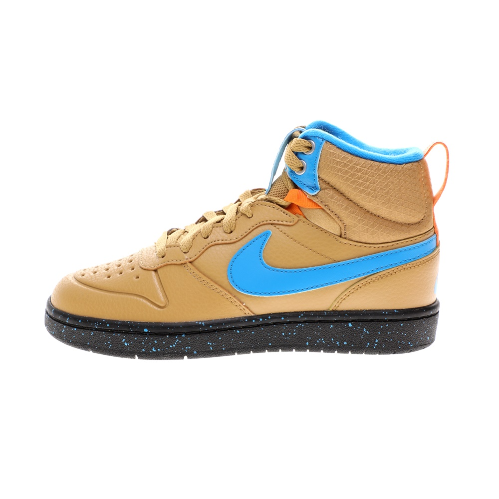 NIKE – Παιδικά αθλητικά παπούτσια Nike COURT BOROUGH MID 2 BOOT (GS) ταμπά