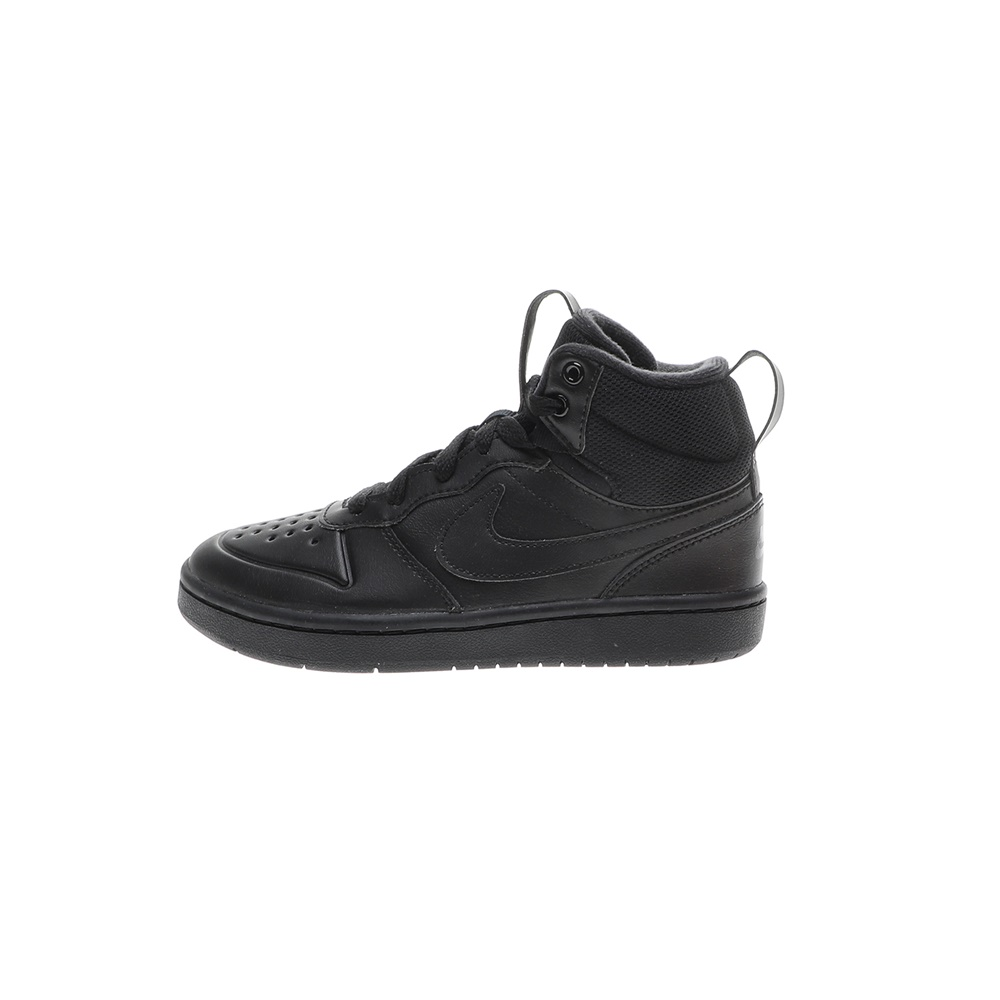NIKE – Παιδικά παπούτσια basketball NIKE COURT BOROUGH MID 2 BOOT (PS) μαύρα