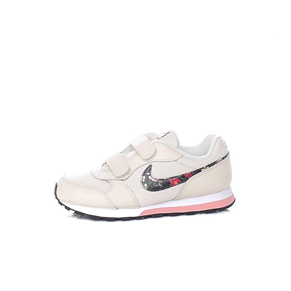 NIKE – Παιιδκά παπούτσια NIKE MD RUNNER 2 VF λευκά