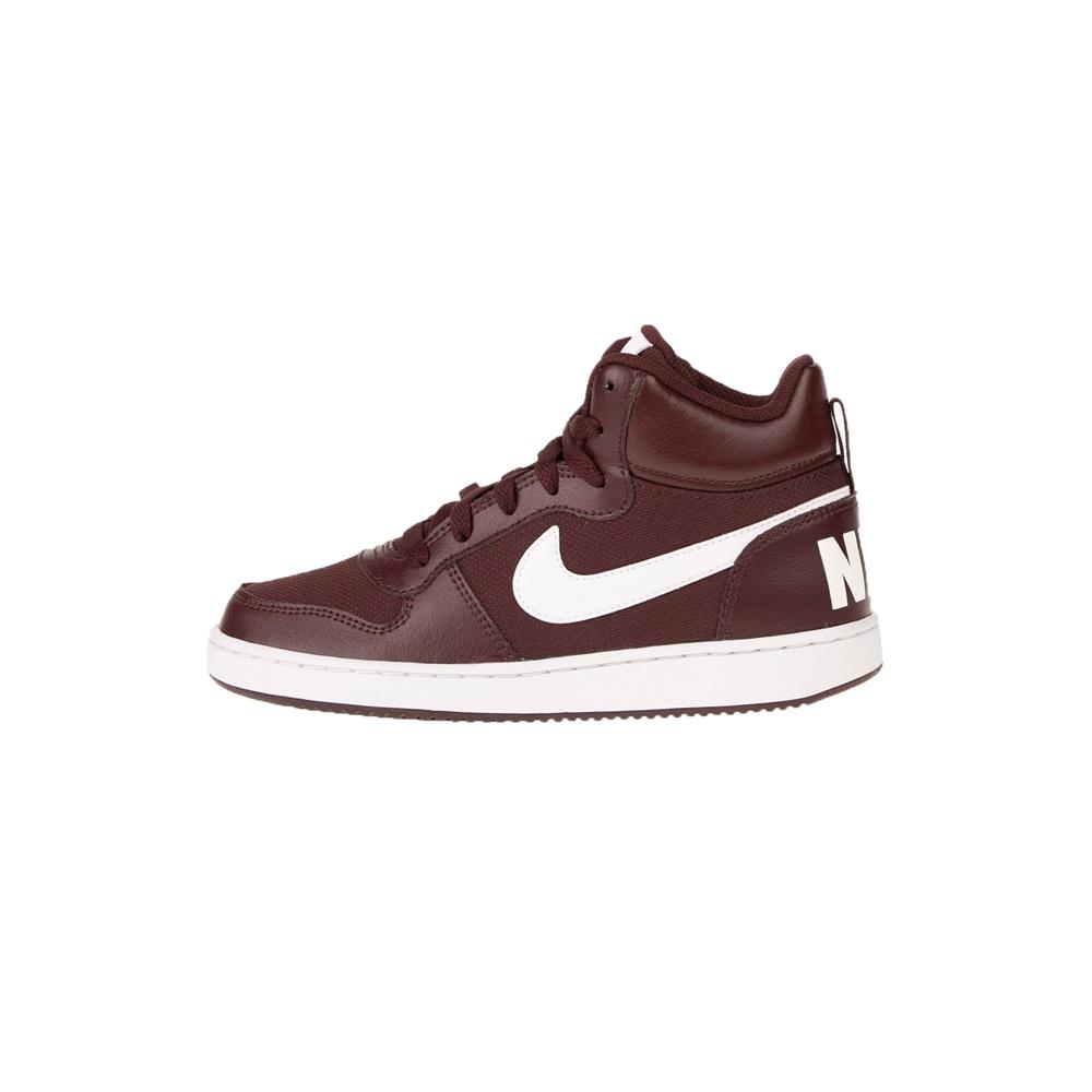 NIKE – Παιδικά αθλητικά παπούτσια NIKE COURT BOROUGH MID PE (GS) καφέ