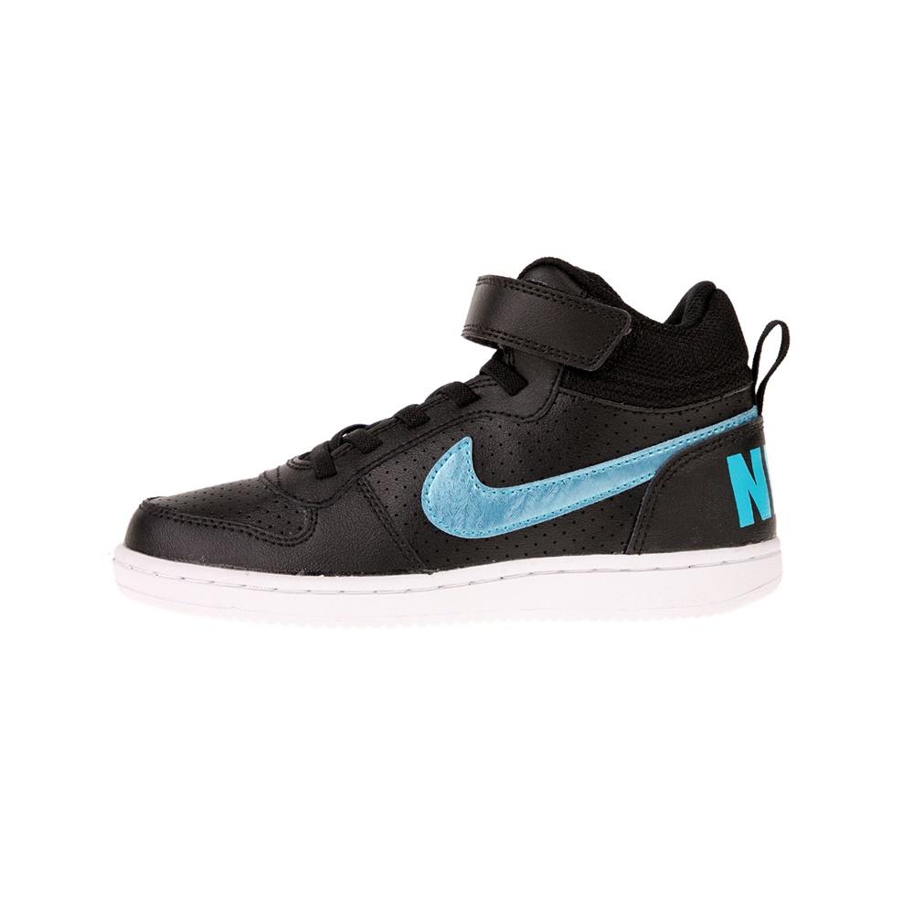 NIKE – Παιδικά αθλητικά παπούτσια COURT BOROUGH MID EP (PSV) μαύρα μπλε