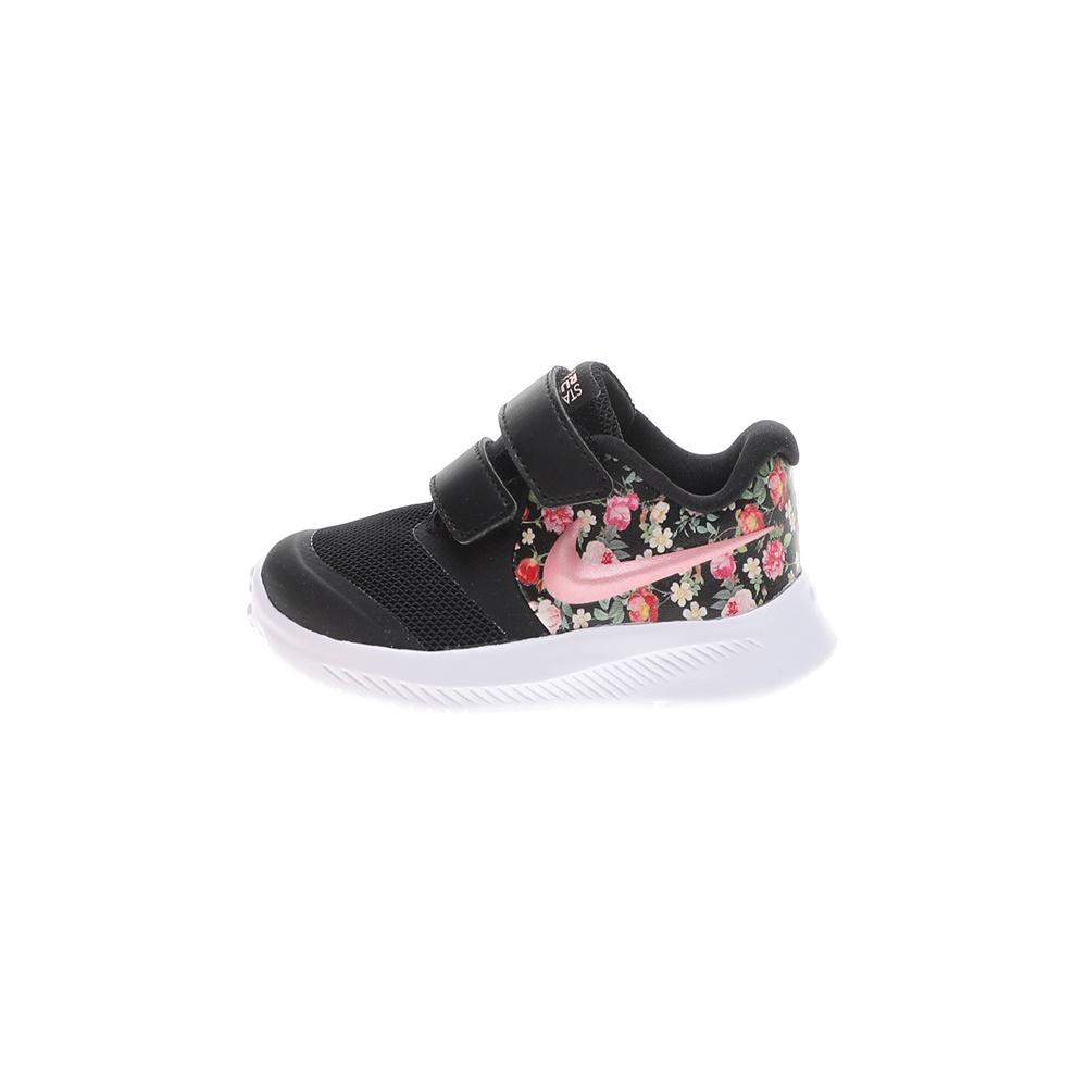 NIKE – Βρεφικά αθλητικά παπούτσια NIKE STAR RUNNER 2 VF (TDV) μαύρα