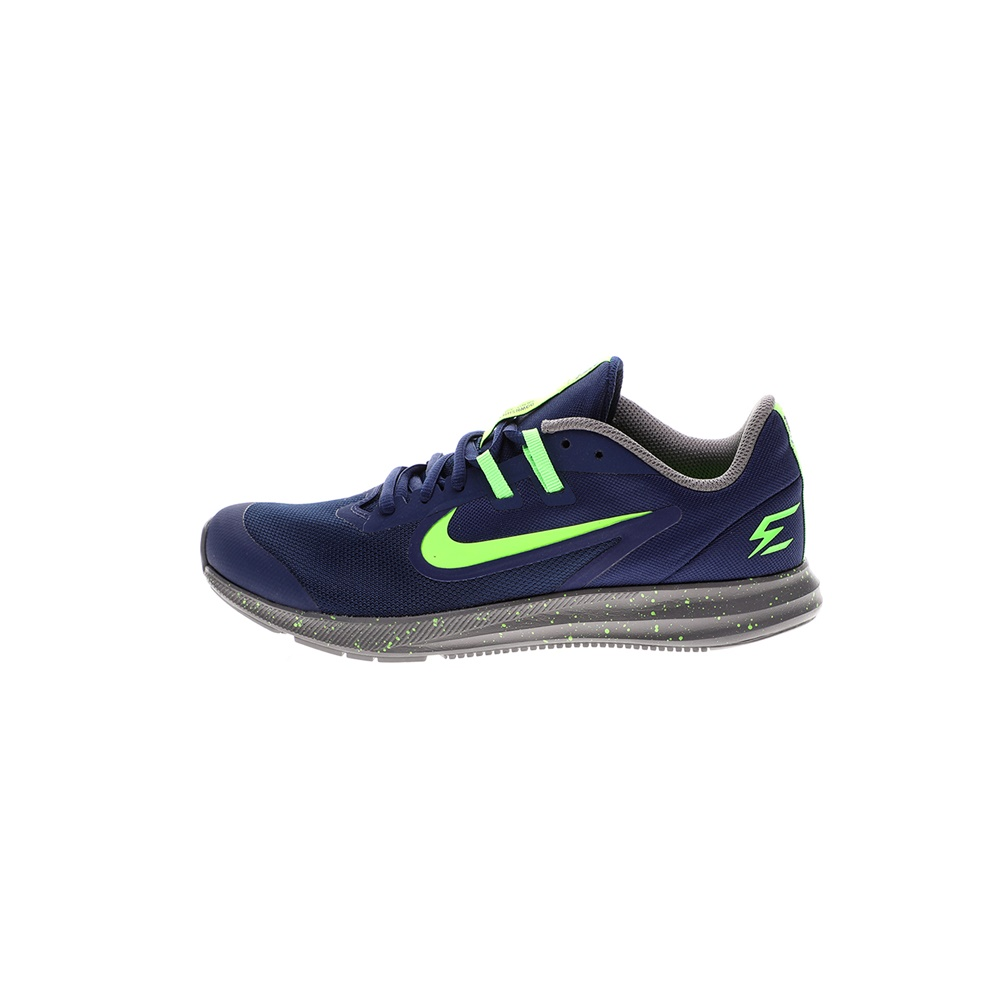 NIKE – Παιδικά παπούτσια NIKE DOWNSHIFTER 9 RW (GS) μπλε πράσινα