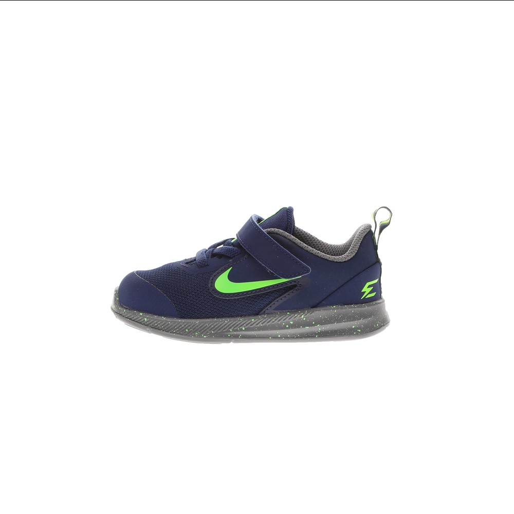 NIKE – Παιδικά αθλητικά παπούτσια NIKE DOWNSHIFTER 9 RW (TDV) μπλε πράσινα