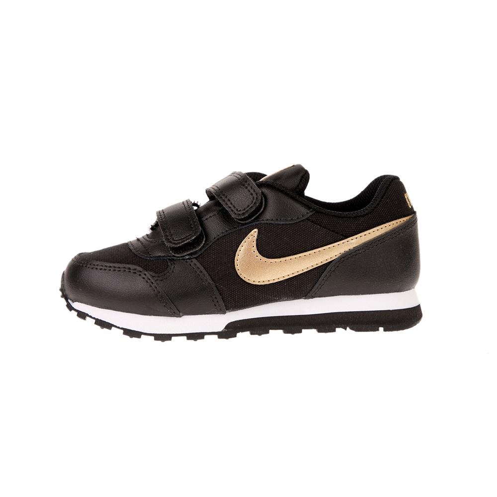 NIKE – Παιδικά αθλητικά παπούτσια NIKE MD RUNNER 2 VTB (PSV) μαύρα χρυσά