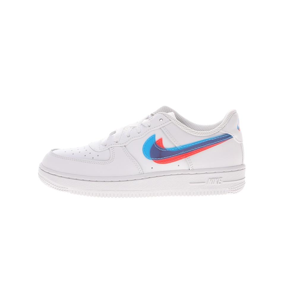 NIKE – Παιδικά αθλητικά παπούτσια NIKE FORCE 1 LV8 KSA (PS) λευκά μπλε