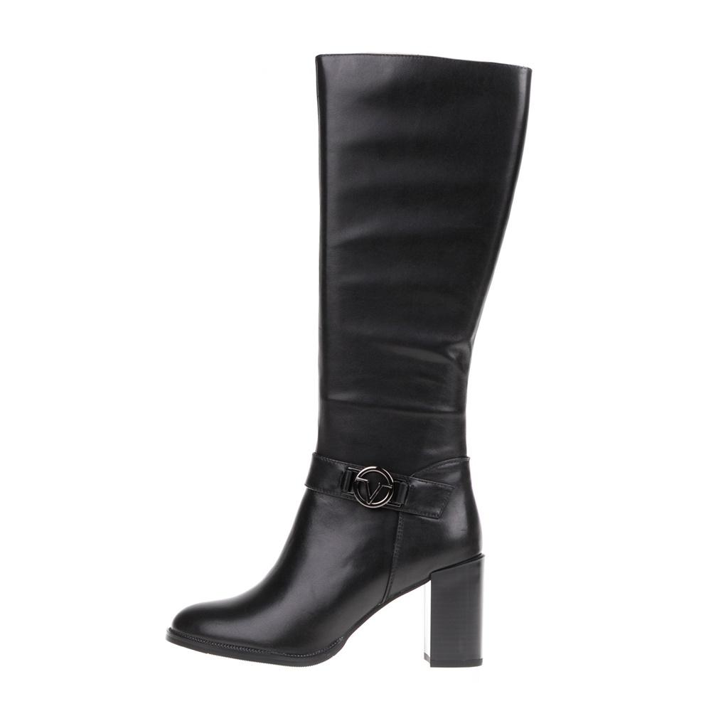 19V69 VERSACE 19.69 – Γυναικείες δερμάτινες μπότες 19V69 VERSACE 19.69 μαύρες