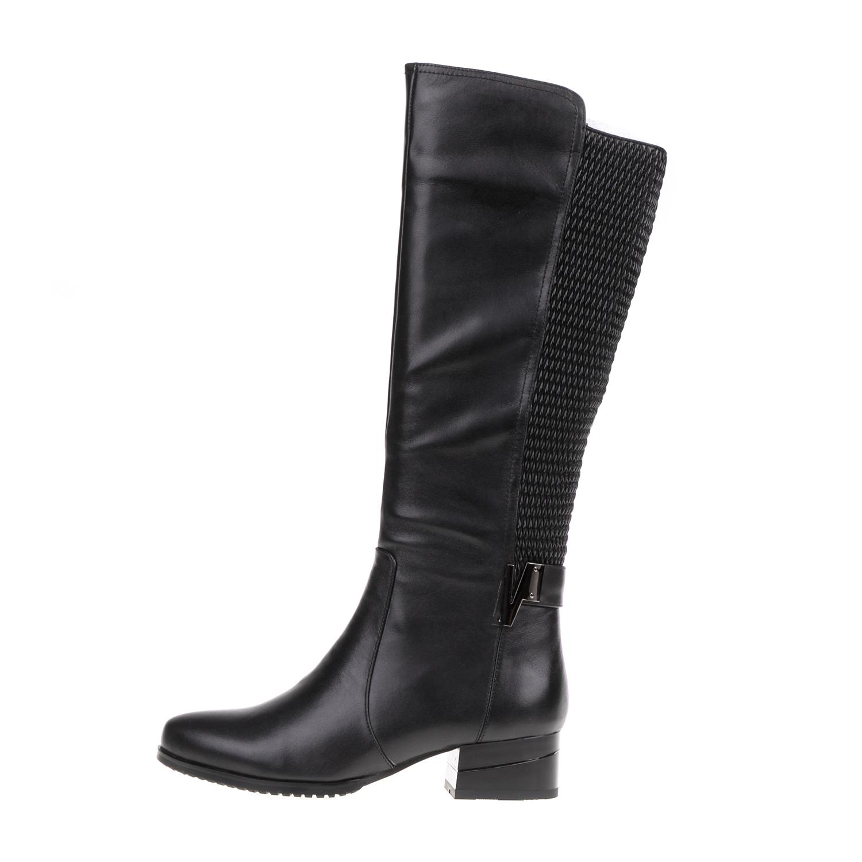 19V69 VERSACE 19.69 – Γυναικείες φλατ μπότες 19V69 VERSACE 19.69 μαύρες