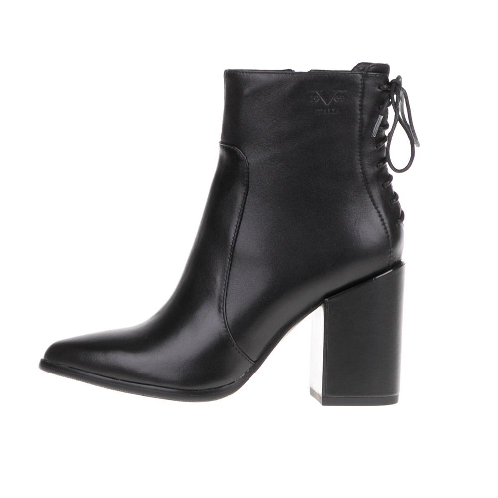 VERSACE 19V69 ABBIGLIAMENTO SPORTIVO SRL – Γυναικεία ψηλοτάκουνα μποτάκια μαύρα