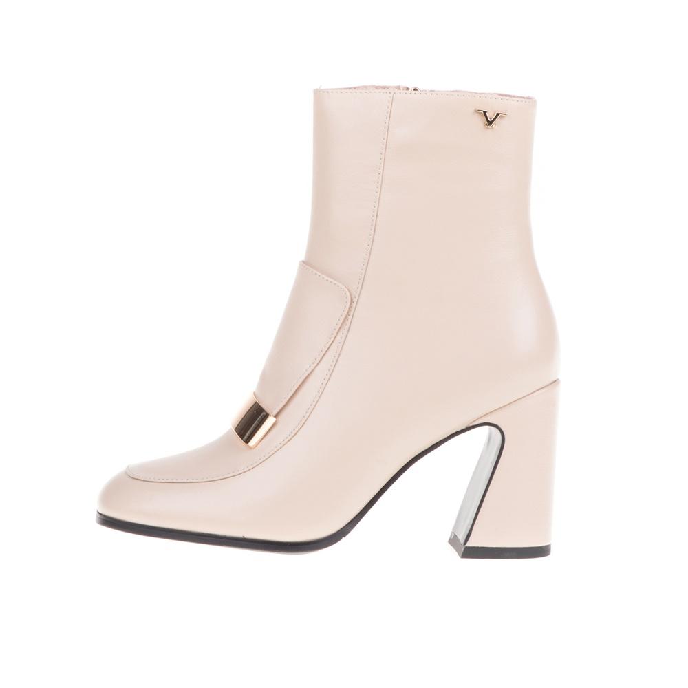19V69 ITALIA – Γυναικεία ψηλοτάκουνα μποτάκια 19V69 ITALIA μπεζ