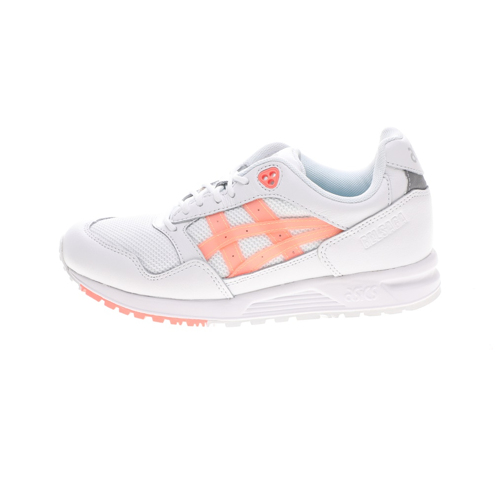 ASICS – Γυναικεία παπούτσια running ASICS GELSAGA λευκά πορτοκαλί