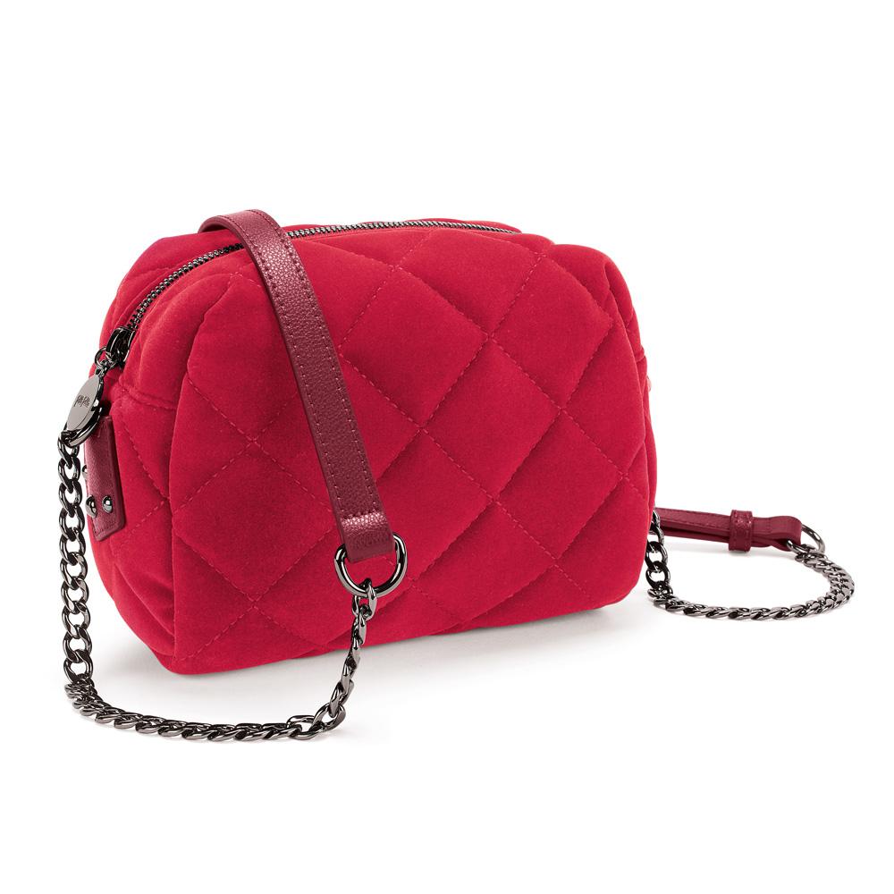 FOLLI FOLLIE - Γυναικεία τσάντα ώμου FOLLI FOLLIE κόκκινη