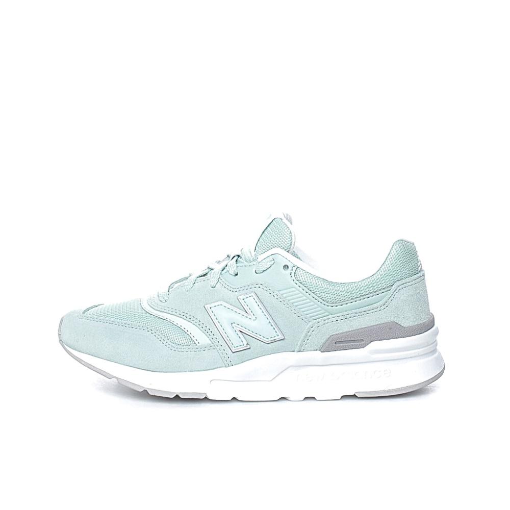 NEW BALANCE – Γυναικεία sneakers NEW BALANCE λαχανί-λευκά