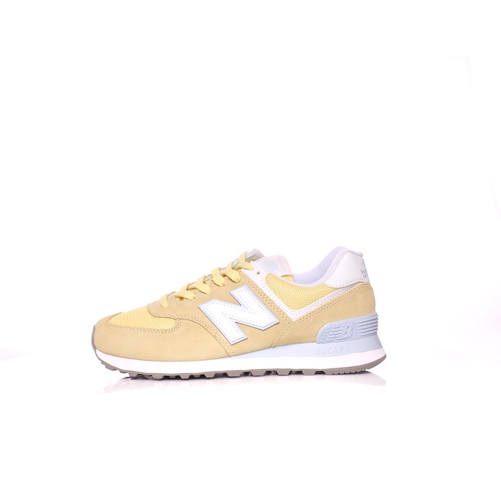 NEW BALANCE – Γυναικεία sneakers 574 CLASSICS κίτρινα