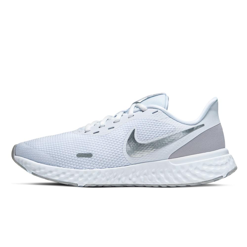 NIKE – Γυναικεία παπούτσια NIKE REVOLUTION 5 λευκά